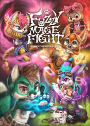 Fuzzy Mage Fight by Silverfox5213