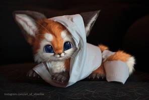 Mummy fox