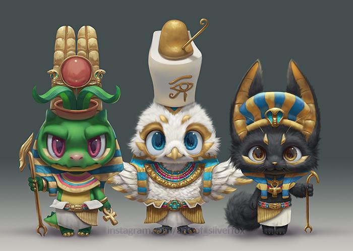 Egyptian Trio
