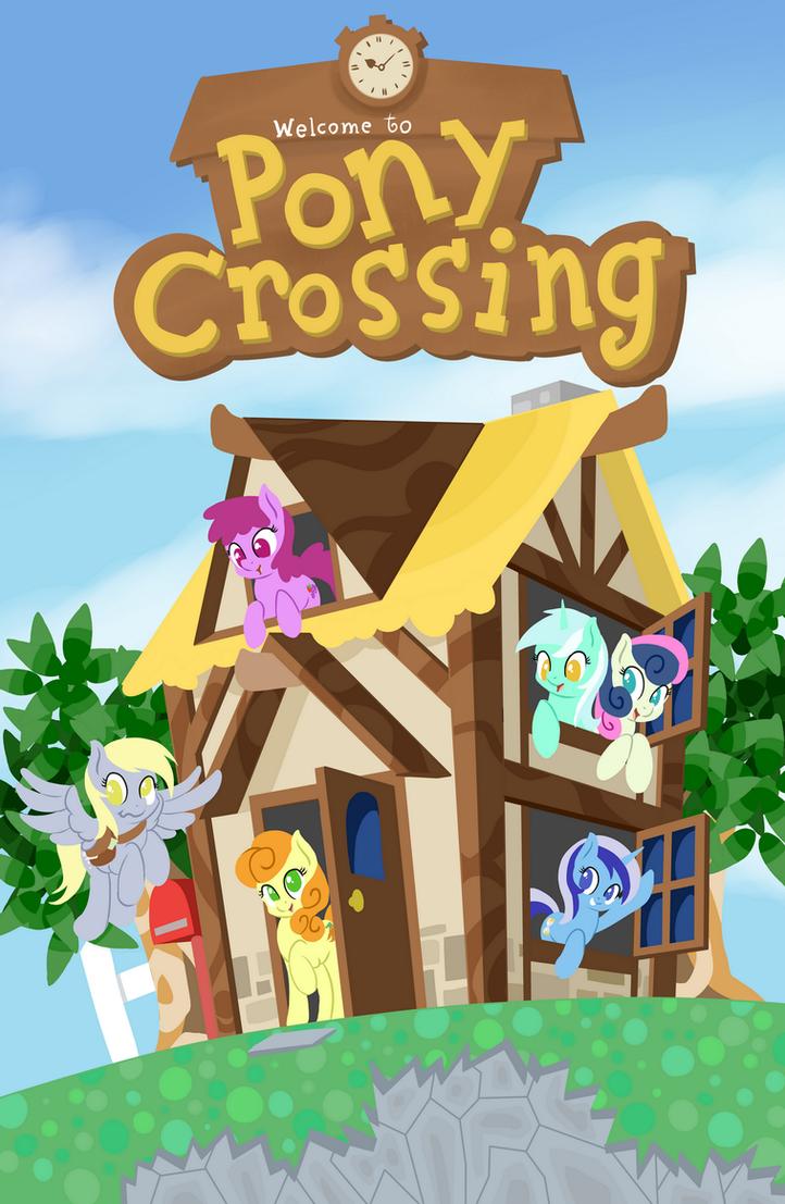 Pony Crossing by fearingFun
