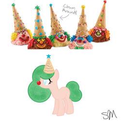 Ice Cream clown custom by QueenBatgirl