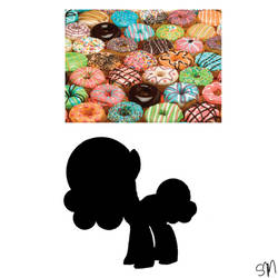 Doughnut Pony Mystery Auction CLOSED by QueenBatgirl