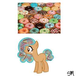 Doughnut Pony REVEALED by QueenBatgirl