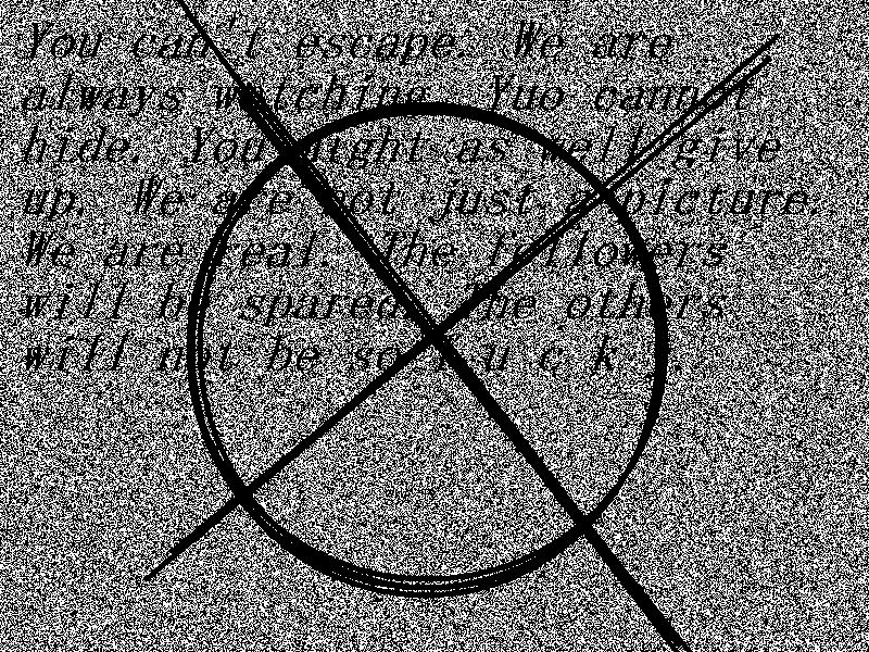 Slenderman Symbol Wallpaper