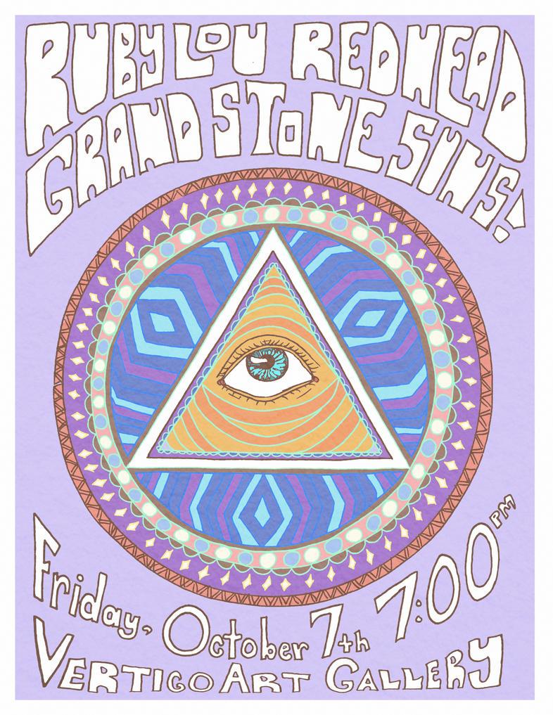 Redhead, Ruby Lou, and Grand Stone Suns at Vertigo by BinnyTheEarthHero