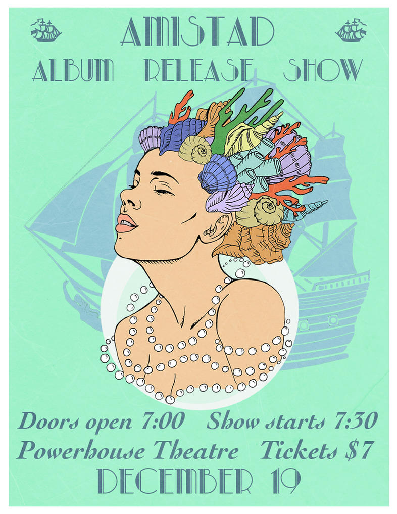 Amistad Album Release Show by BinnyTheEarthHero
