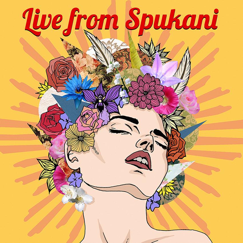 Live from Spukani Album Cover by BinnyTheEarthHero