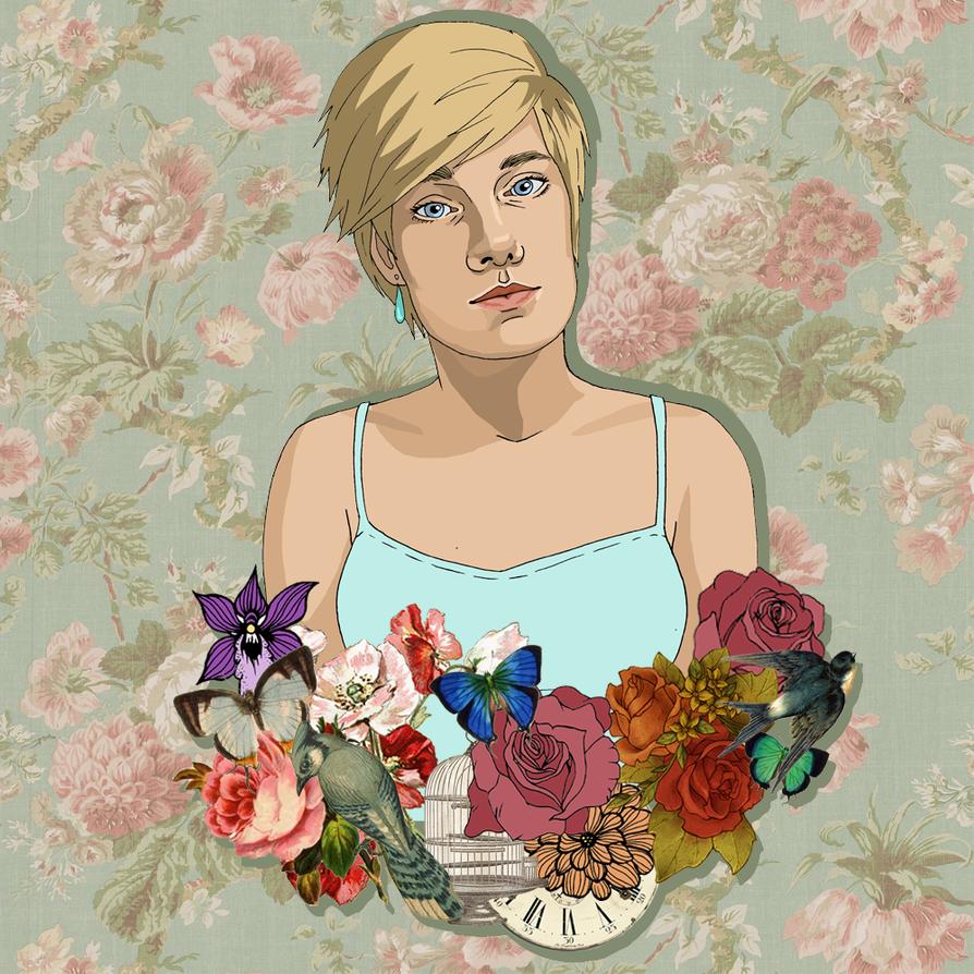 Self Portrait - Digital by AlexaHarwoodJones