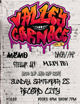 Valley Carnage Vol IV Poster
