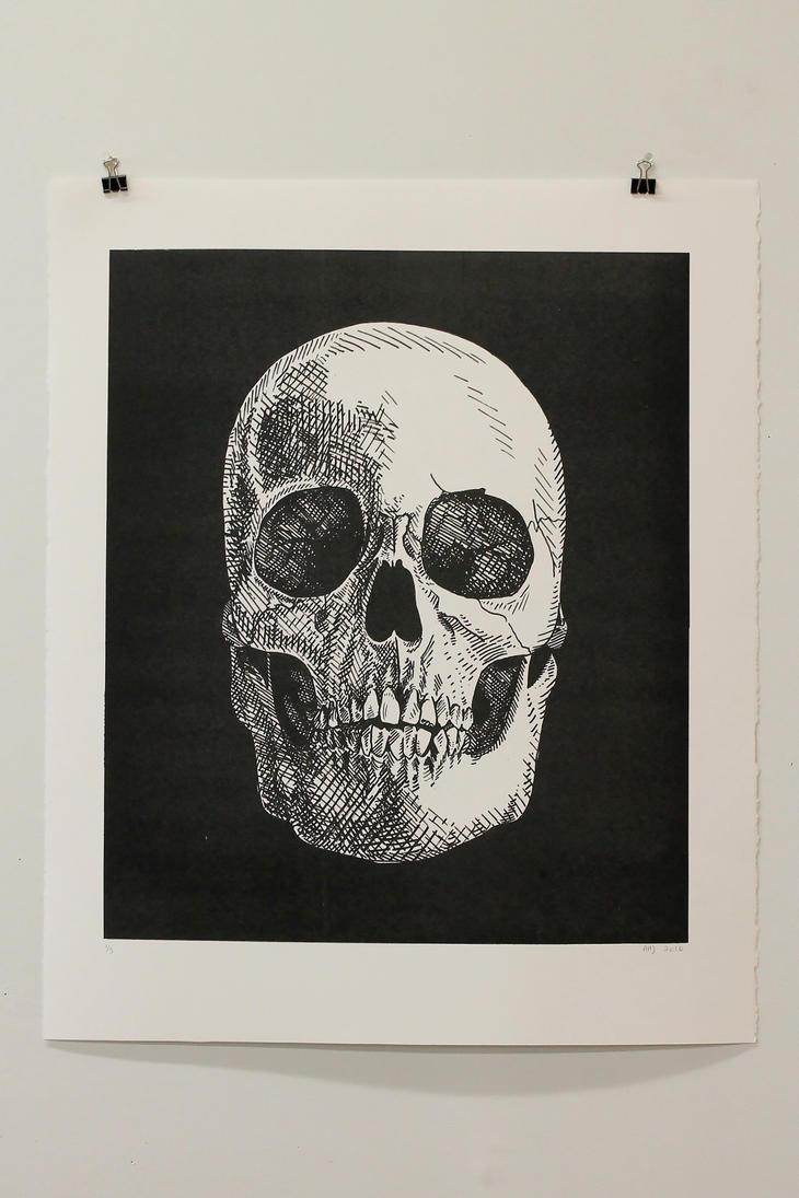 Skull by AlexaHarwoodJones