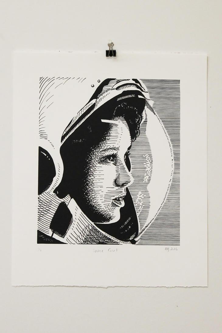 Space Babe by AlexaHarwoodJones