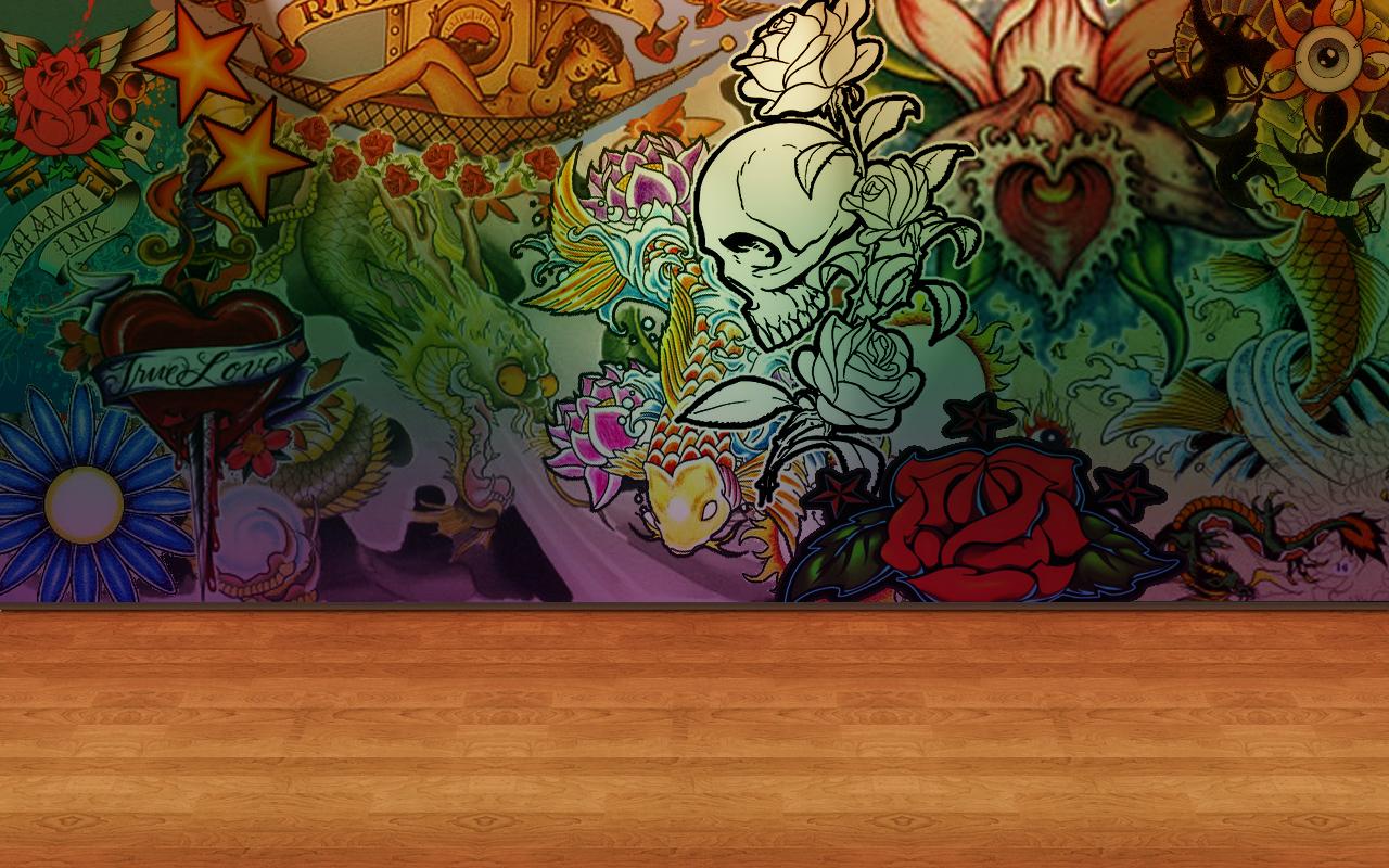 wallpaper tattoo by Krispilandia on DeviantArt