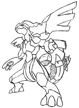 Coloring pages of pokemon legendaries