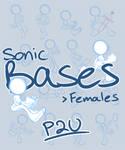 Sonic bases: Females .:P2U:.