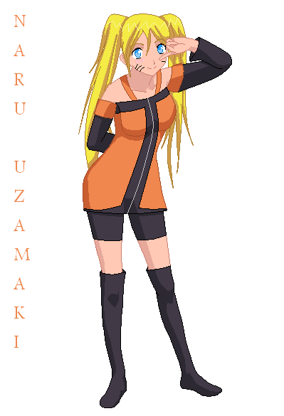 Naru Cosplay Idea by kuloi-no-chloe