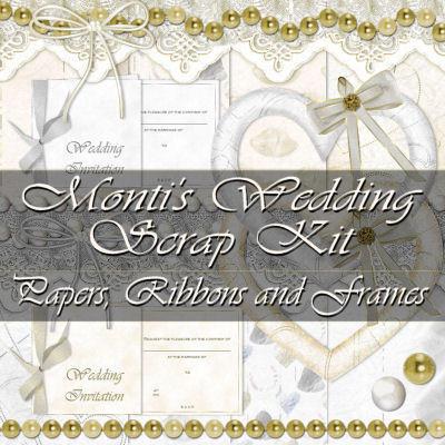 Wedding Scrapkit part 1 by justmonti on deviantART