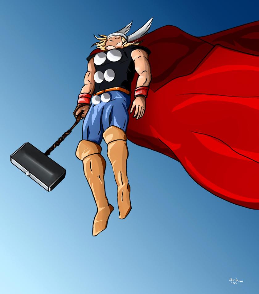God of Thunder by PakkeuZ