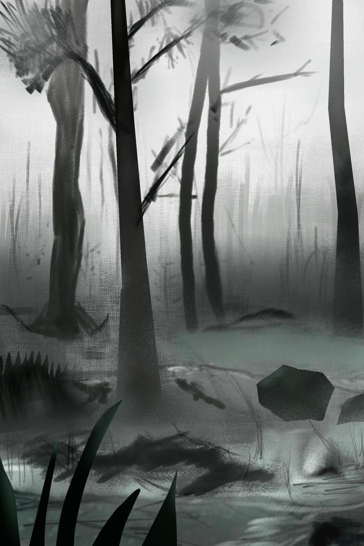 Dark forest by PakkeuZ