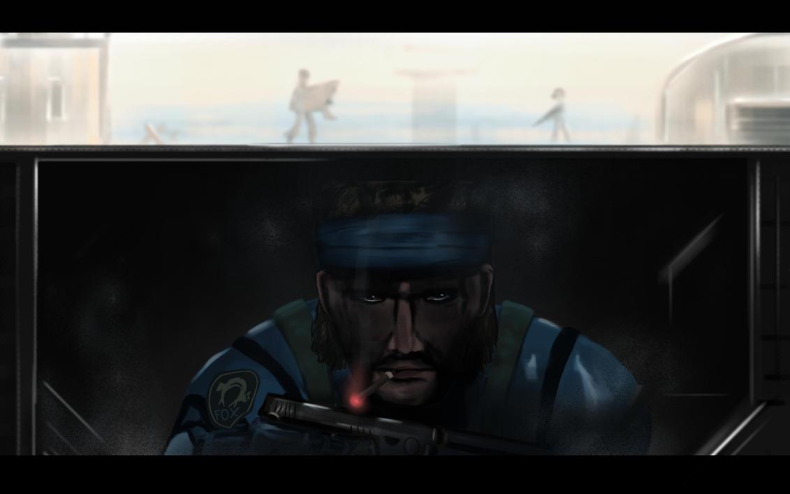 Metal Gear fan art by PakkeuZ
