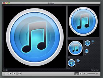 iTunes Snow by minimamente