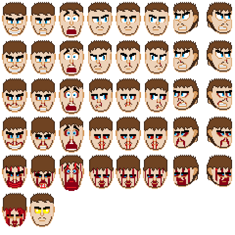 Doomguy Me Sprite Sheet By Guardianstriker On Deviantart