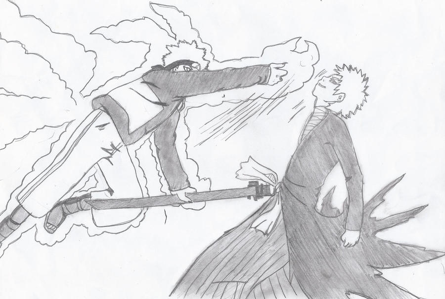 naruto vs ichigo by crowshot27 on DeviantArt | 900 x 606 jpeg 97kB