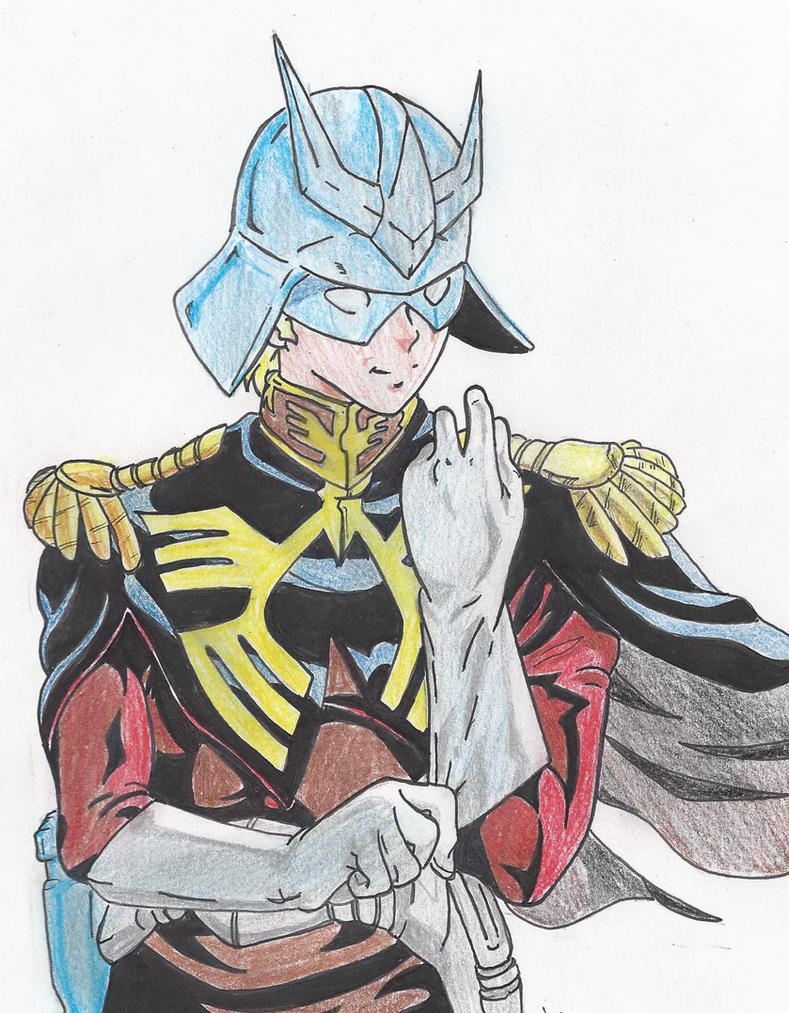 msg char aznable by crowshot27