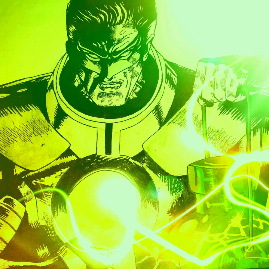 Hal Jordan - Green Lantern/ Parallax by crowshot27