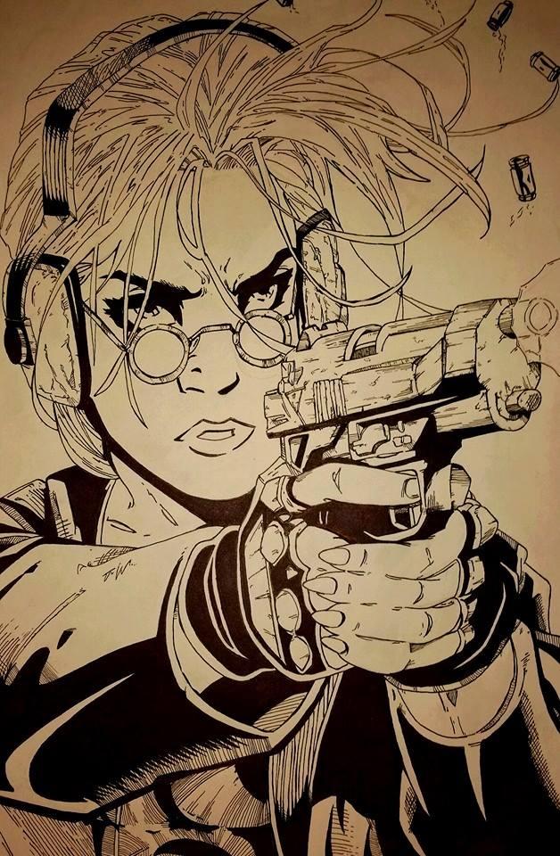 Lara Croft- Tomb Raider by crowshot27