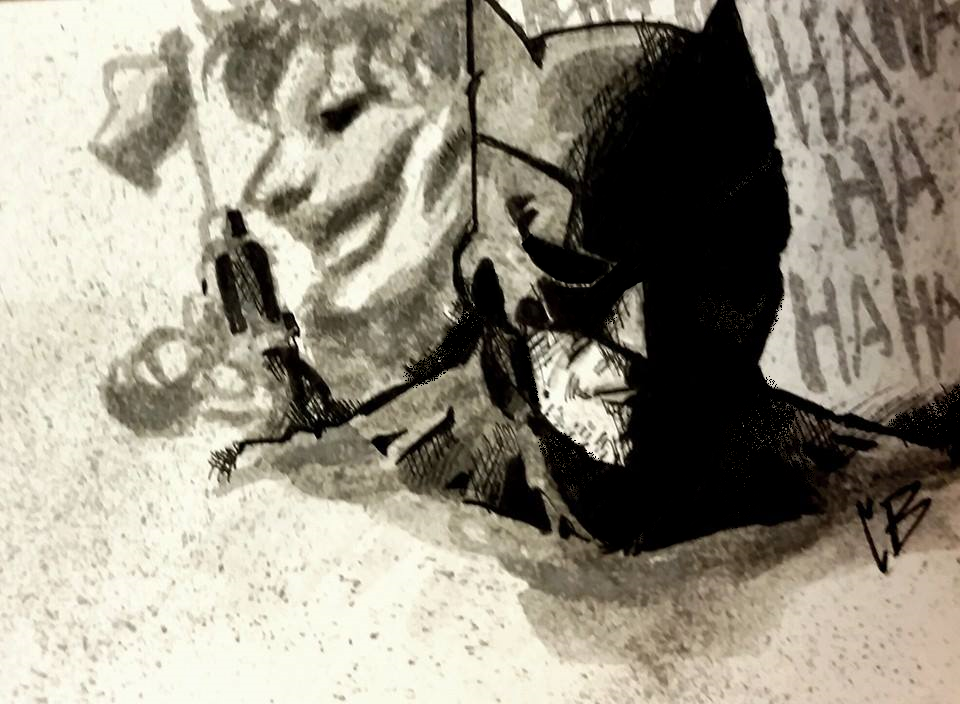 Batman sketch by crowshot27