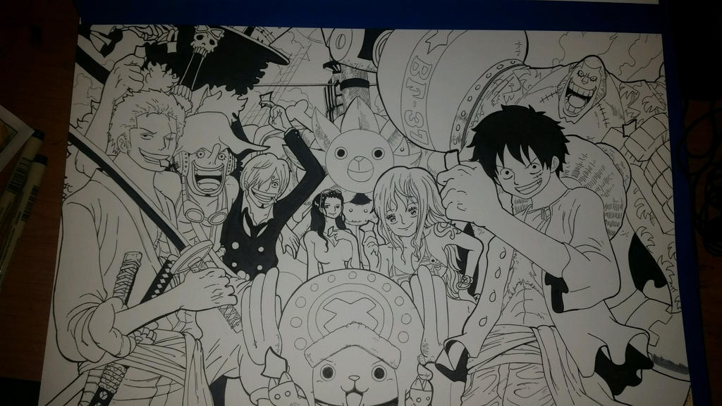 One Piece Crew - Inks by crowshot27