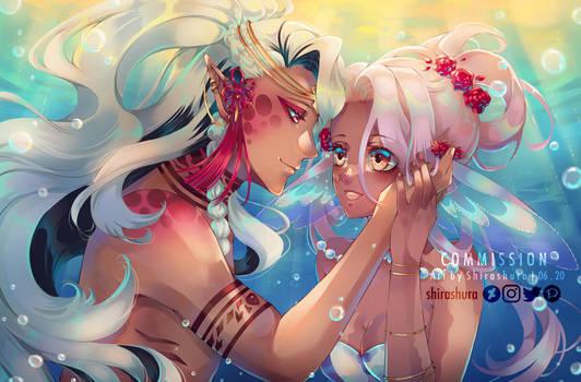 [Commission] Shinya and Nami