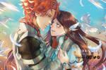 [Commission] Sylvain and Calla