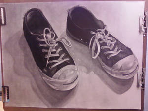 Worn Shoes
