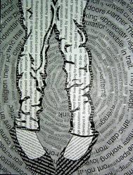 Typography Legs by breakdancingcat