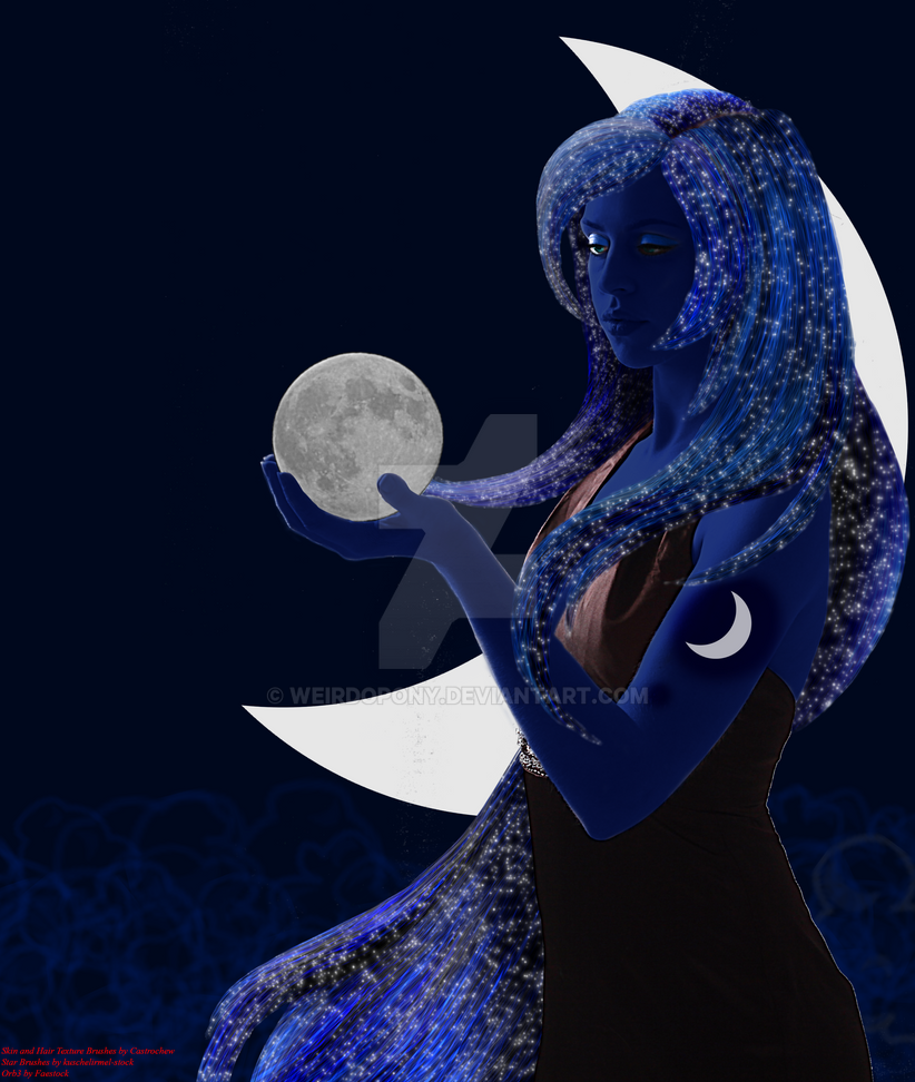 Princess Luna Personified