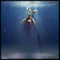 Unterwasser by halogenlampe