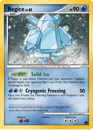 EON Regice by FlamingClaw