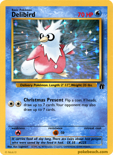 Some FAKE Pokémon Cards Delibird_by_FlamingClaw