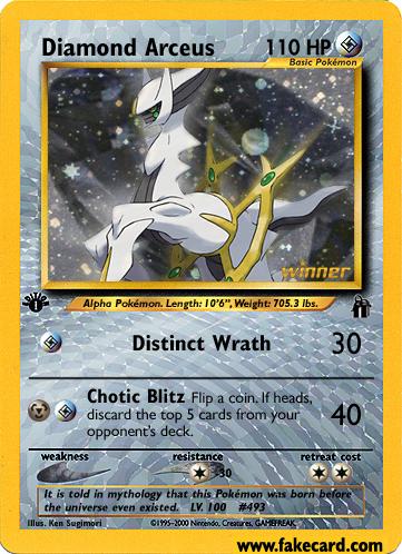 Some FAKE Pokémon Cards Diamond_Arceus_by_FlamingClaw