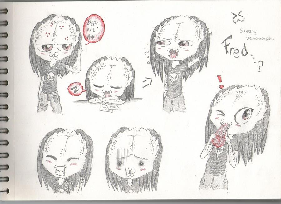 Mis dibujos, espero que os gusten - Página 2 Fred____by_sweetyxenomorph-d4qwioh
