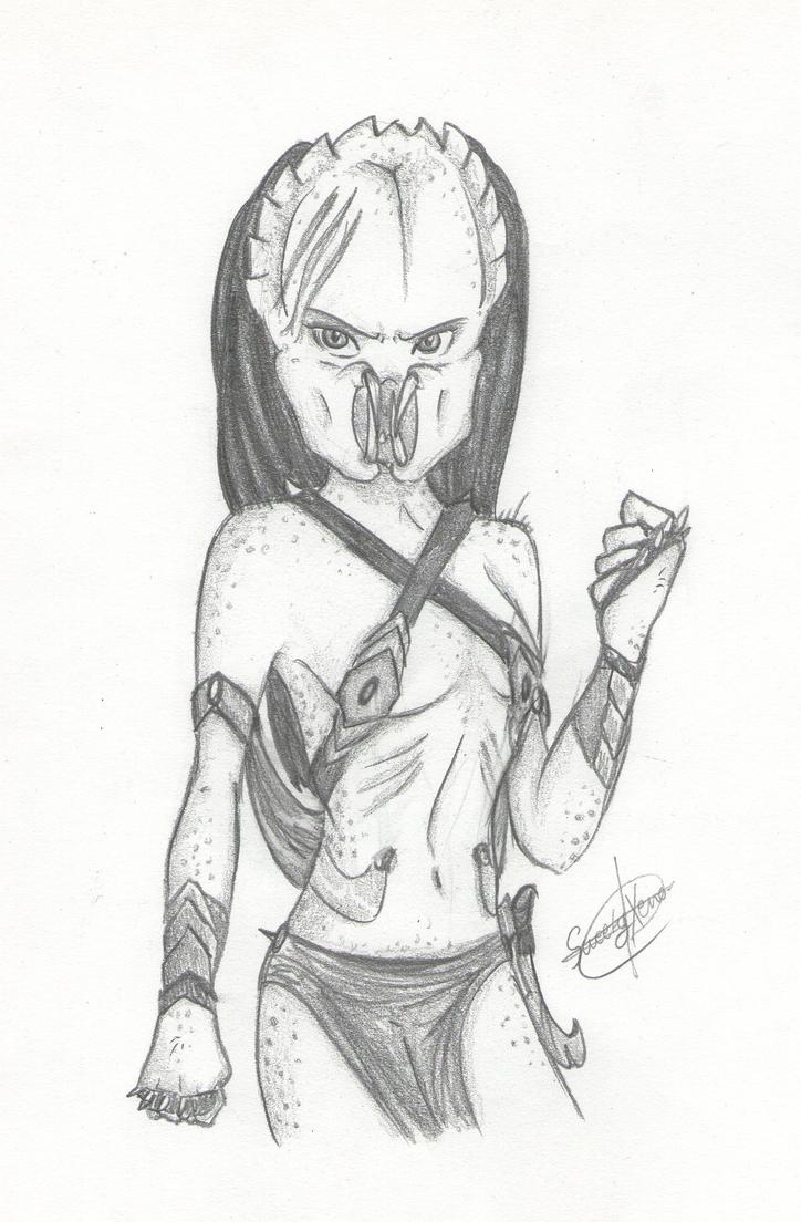 Mis dibujos, espero que os gusten - Página 3 Young_yautja_warrior__again__by_sweetyxenomorph-d4y6ksm