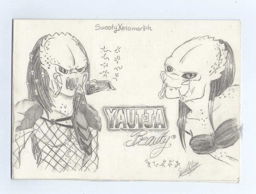 Mis dibujos, espero que os gusten - Página 3 Yautja_beauty_by_sweetyxenomorph-d507svk