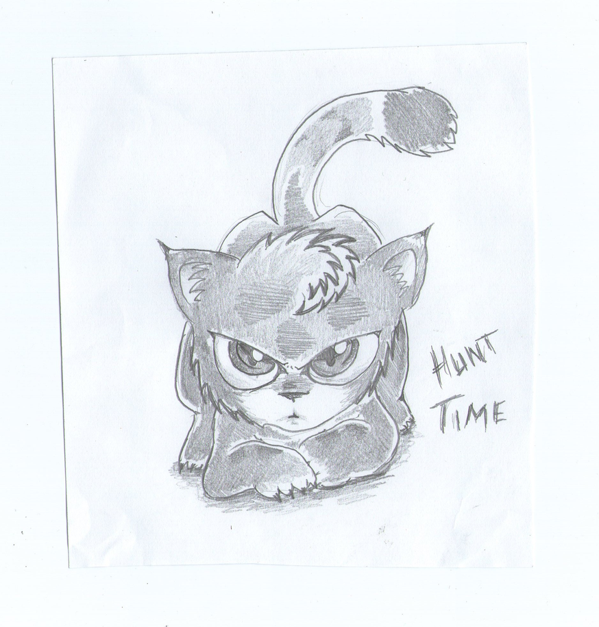 Mis dibujos, espero que os gusten - Página 3 Little_lynx_by_sweetyxenomorph-d50t2qq