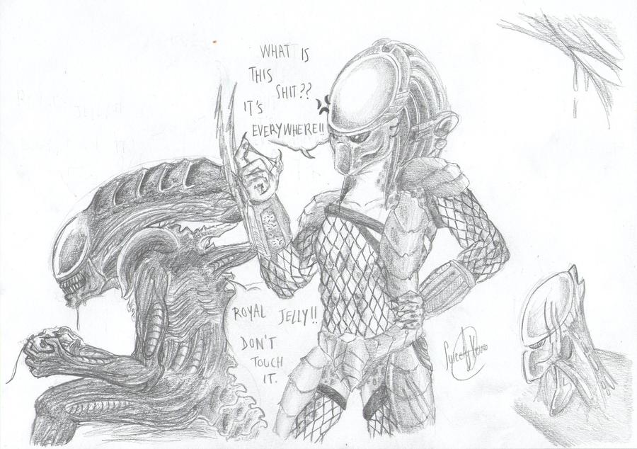 Mis dibujos, espero que os gusten - Página 4 Avp__bad_convivence_xd_by_sweetyxenomorph-d56zurd