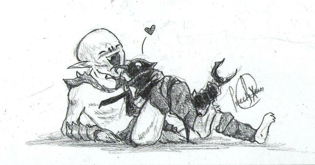 Falmer's best friend :3 by SweetyXenomorph