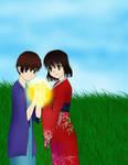 RP Chat OCs-Dai and Sakura