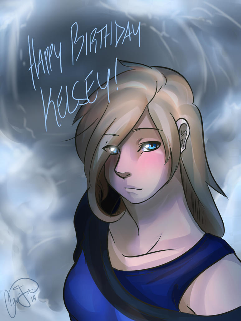 happy birthday Kelsey! by Nek0ShiChan