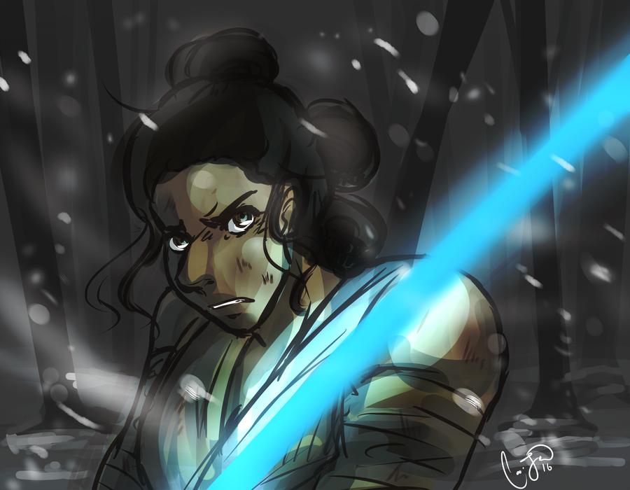 The Force Awakens by Nek0ShiChan