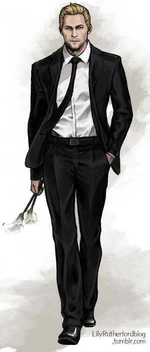 Cullen in a suit #2